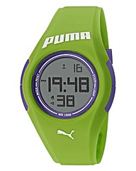 Puma Green Silicon Strap Watch