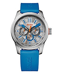Boss Orange Gents Blue Silicone Watch