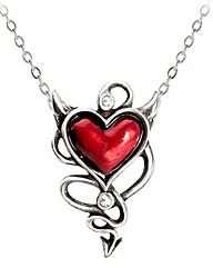 Alchemy Gothic Heart Necklace