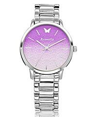 Accessorize Silver-Tone Bracelet Watch