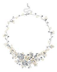 Alan Hannah Devoted Pearl Spray Necklace
