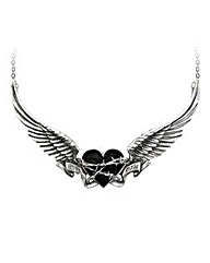 Alchemy Gothic Black Romance Necklace