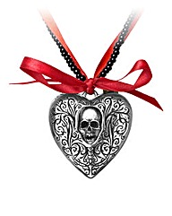 Alchemy Gothic Reliquary Heart Locket