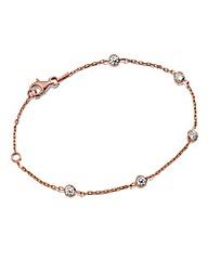 J-Jaz Cubic Zirconia Bracelet