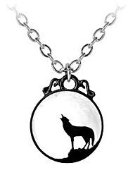 Alchemy Gothic Wolf Pendant