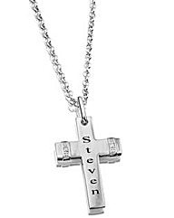 Precious Sentiments Cross Pendant