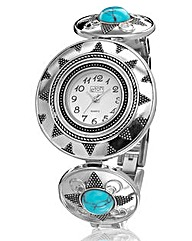 Ladies Circle Bracelet Watch