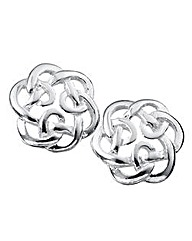 Sterling Silver Celtic Knot Earrings