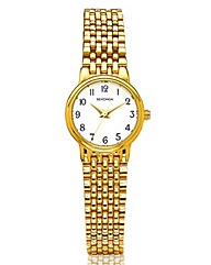 Sekonda Ladies Gold Tone Bracelet Watch