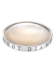 Hot Diamonds Mother of Pearl Coin