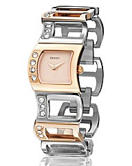 Seksy Ladies Cut Out Bracelet Watch