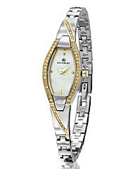 Accurist Ladies Two Tone Bangle Watch