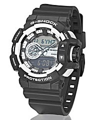 G-Shock Gents Monocrome Strap Watch