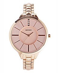 Sekonda Rose-tone Large Dial Watch
