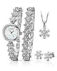 Sekonda Ladies Watch & Jewellery Set