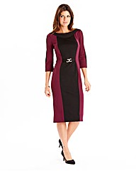 Joanna Hope Colour Block Jersey Dress