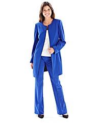 Joanna Hope Longline Zip Jacket