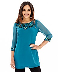 Joanna Hope Embellished Tunic