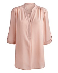 JOANNA HOPE Roll Up Sleeve Blouse