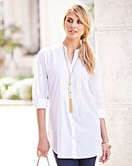 JOANNA HOPE Embroidered Shirt