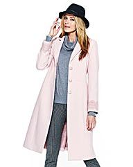 Together Lace Trim Coat