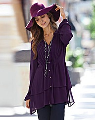 Together Hanky Hem Blouse