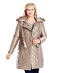 Joanna Hope Hooded Padded Coat