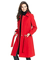 Joanna Hope Fit and Flare Coat