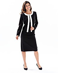 Joanna Hope Contrast Dress and Jacket