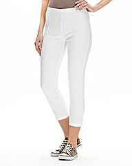 Simply Be Pull On Crop Jeggings Reg
