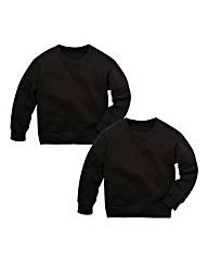 TKD Unisex Pack of Two Sweatshirts