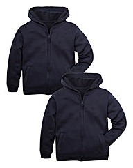 TKD Unisex Pack of Two Hoodies