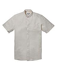 Label J Grandad Waffle Shirt L