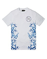 Label J Oriental Side Print Tee Regular