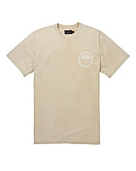 Label J Marble Wash Logo Tee Long