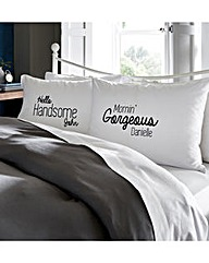 Personalised Couple Pillowcases