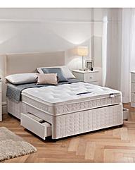 Silentnight Divanset with 2 drawers