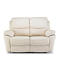 Arezzo Leather 2 Seater Recliner Sofa