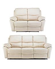Arezzo 3 Plus 2 Seater Recliner Sofa
