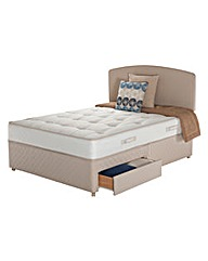 Sealy Ortho Firm Posture 2 Drawer Divan