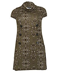 Samya Paisley Print Knit Dress