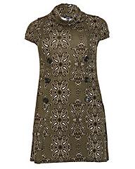 Samya Paisley Print Knit Dress