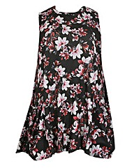 Samya High Neck Floral Dress