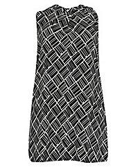 Samya Pleat Detail Shift Dress