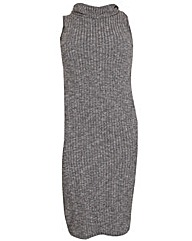 Samya High Neck Bodycon Dress