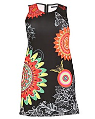 Samya Psychedelic Print Dress