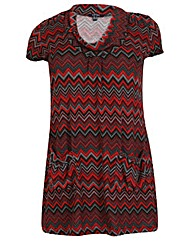 Samya Geo Print Tunic Dress