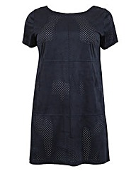 Samya Textured Shift Dress