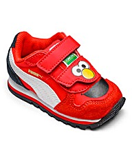 Puma Sesame ST Elmo Infant Trainers