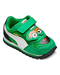 Puma Sesame ST Oscar Infant Trainers